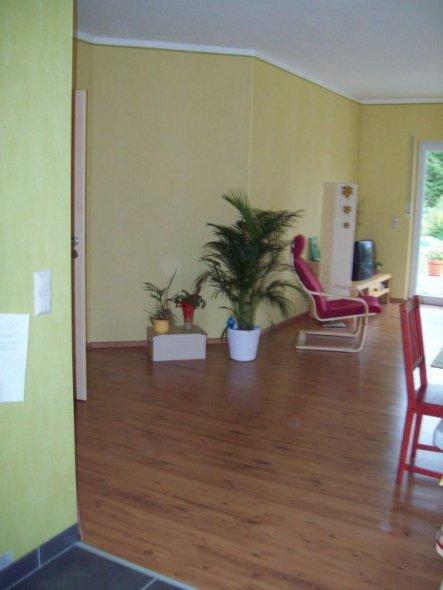 wohnzimmer küche offen:Wohnzimmer 'Wohnzimmer-Essplatz-offene Küche' – Casa Sandra