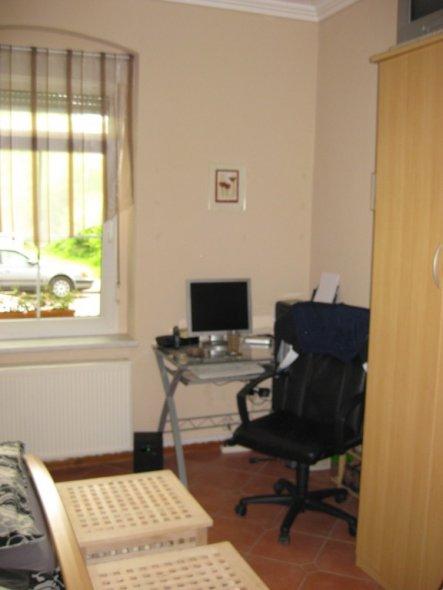 Beim Kauf war es ein Wohnzimmer, 2009 ist es unser Schlafzimmer