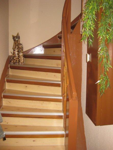 Treppenhaus nach Renovierung 2009