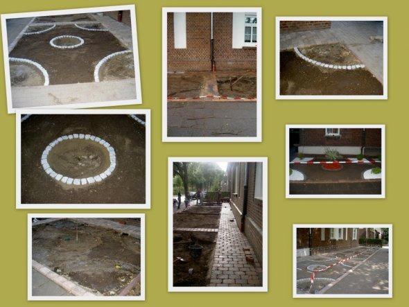 Hausfassade / Außenansichten 'Der Vorgarten'