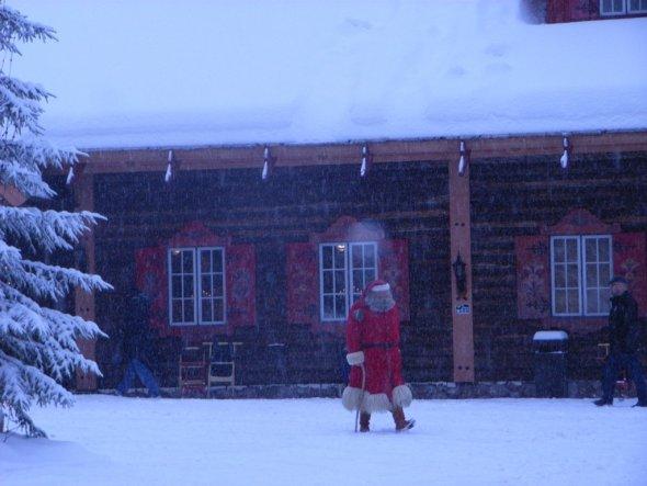 Weihnachtsdeko 'Nikolaushaus'