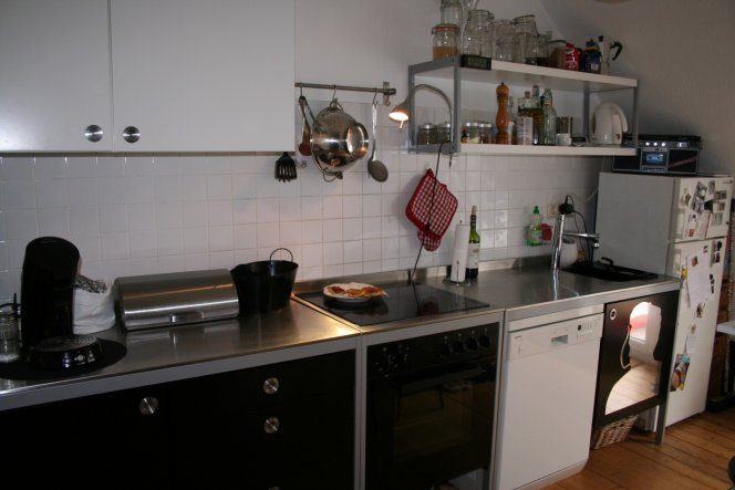 Küche 'La cugina' - Unsere Altbau-Wohnung - Zimmerschau