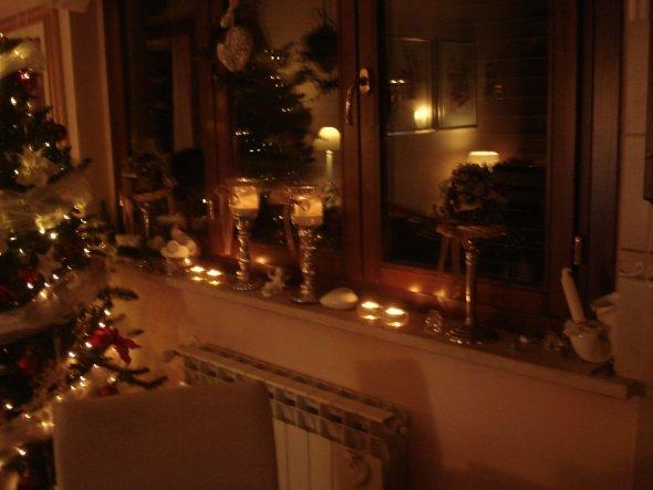 WZfenster - noch mehr Kerzen :-)