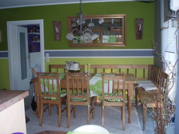 Blickwinkel von der Küche aus...