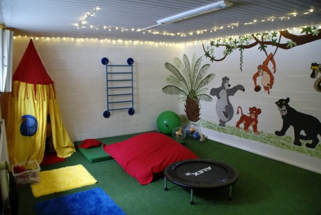 Kinderzimmer 'dschungel tobekeller'   home sweet home   zimmerschau