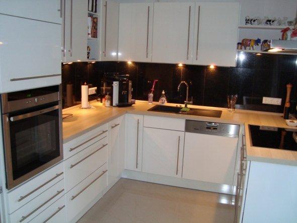k che 39 meine neue k che 39 bei uns zu haus im gr nen haus zimmerschau. Black Bedroom Furniture Sets. Home Design Ideas