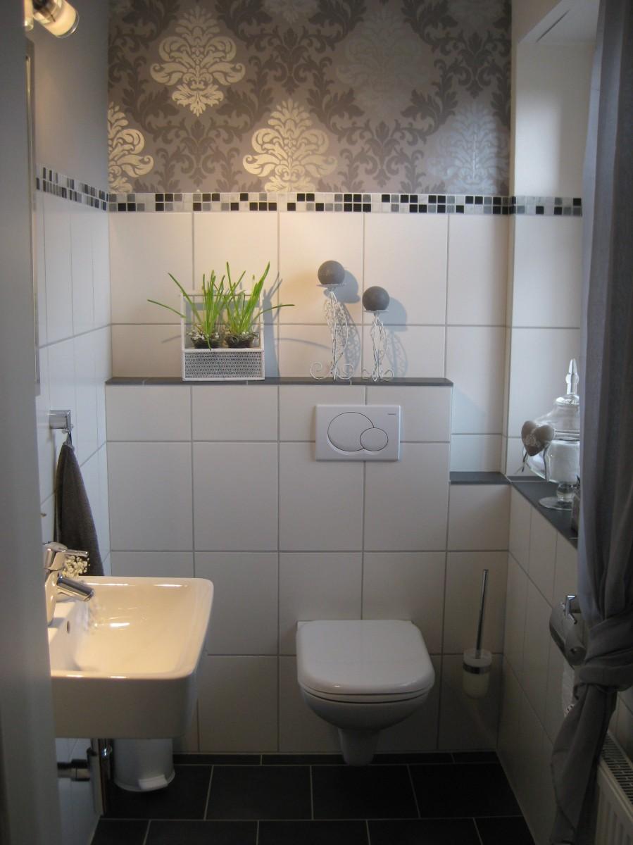 Bad gäste wc unser landhäuschen zimmerschau
