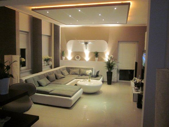 wohnzimmer 'wohnzimmer / küche' - mein domizil - zimmerschau, Wohnzimmer