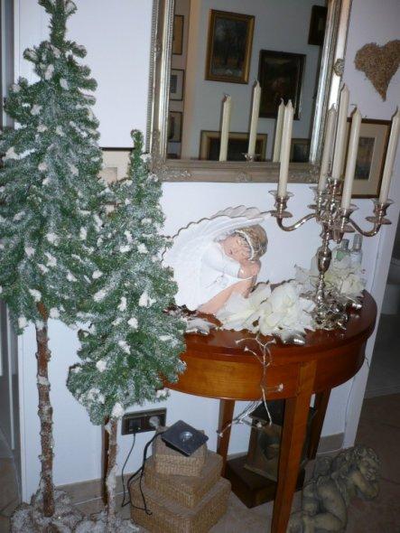 Weihnachtsdeko 'Weihnachten zu Hause'