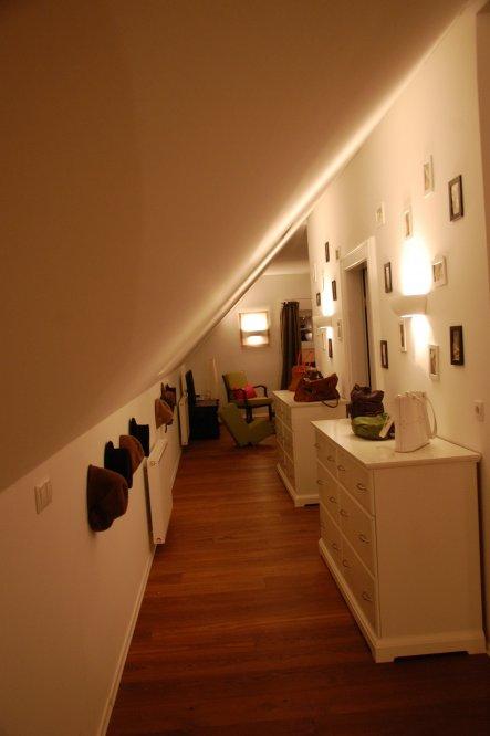 Wohnzimmer Dachgeschoss - Vorher/Nachher - Zimmerschau