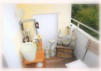 sommerlicher Balkon
