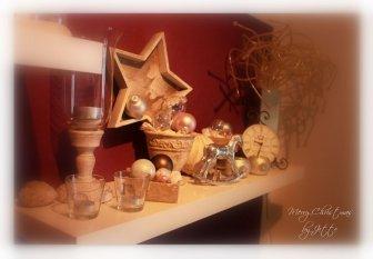 meine romantische Weihnachtsdeko