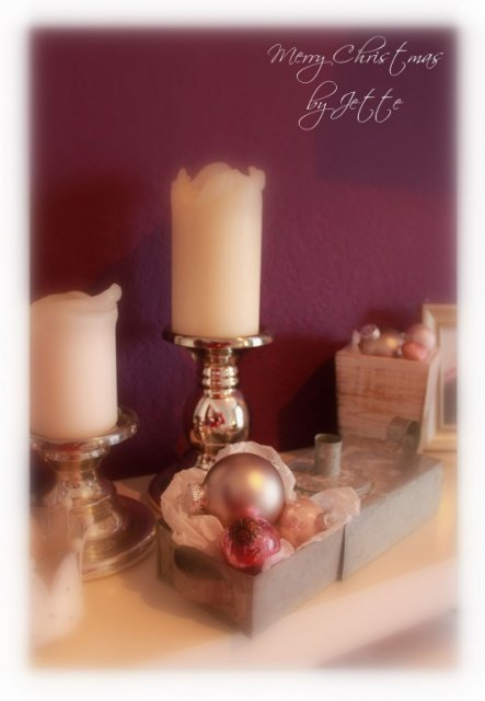 Weihnachtsdeko 'meine romantische Weihnachtsdeko'