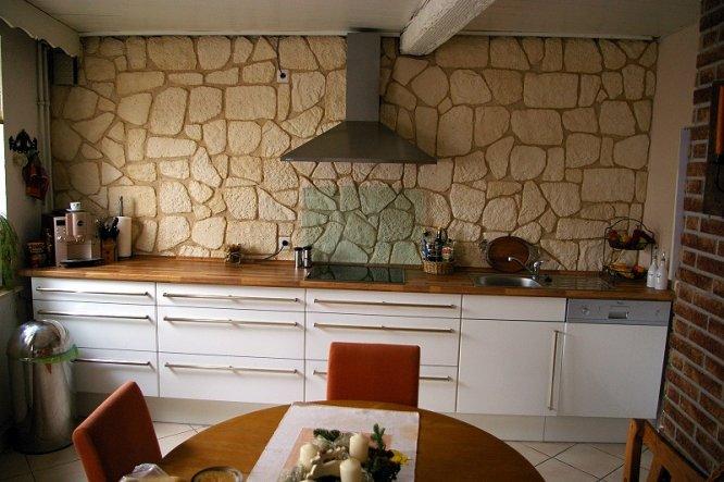 küche 'küche' - mein höfchen..... - zimmerschau - Verblendsteine Küche