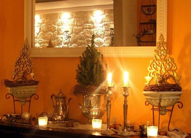 viele Kerzen machen es gemütlich