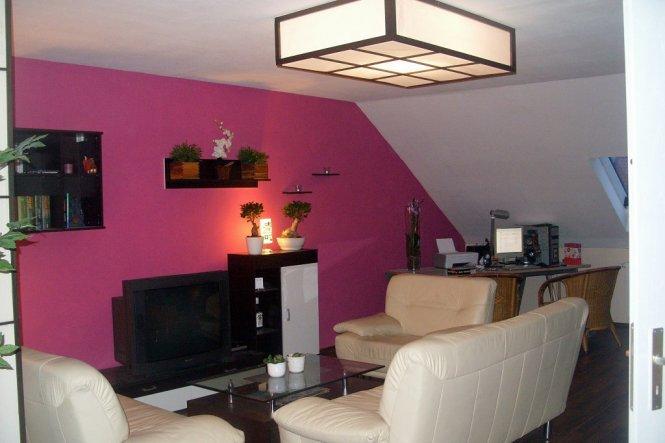 Wohnzimmer 'Unser neu ausgebautes Dachgeschoss'