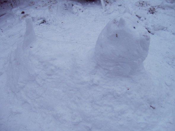 Garten 'Schneehunde'