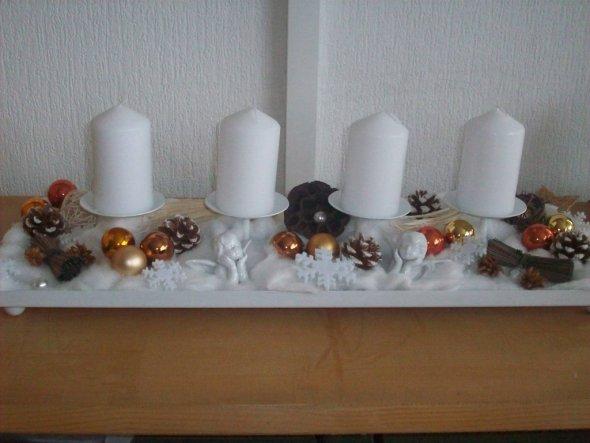 Weihnachtsdeko 'Adventszeit`09'