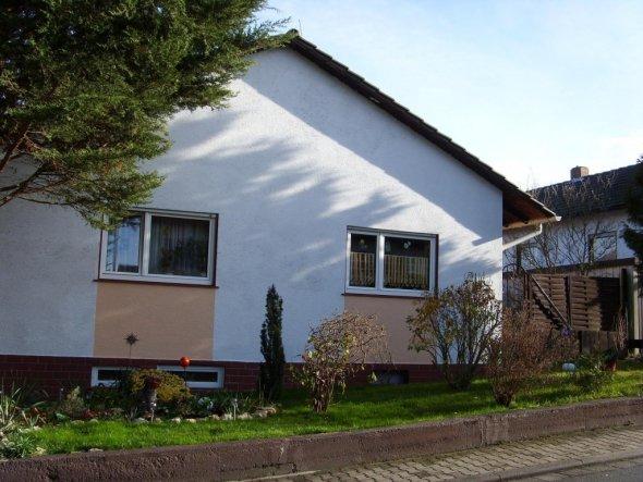 Hausfassade / Außenansichten 'unser Haus von der Strasse aus'