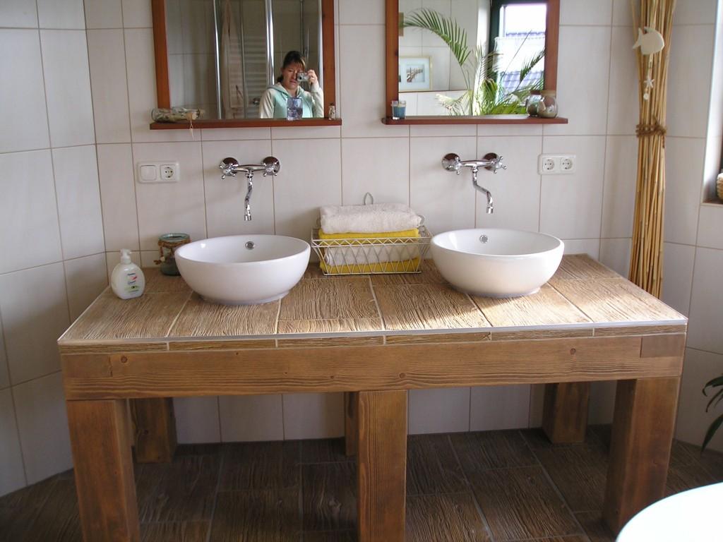 Bad \'Unser großes Badezimmer...\' - Unser kleines Holzhäuschen ...