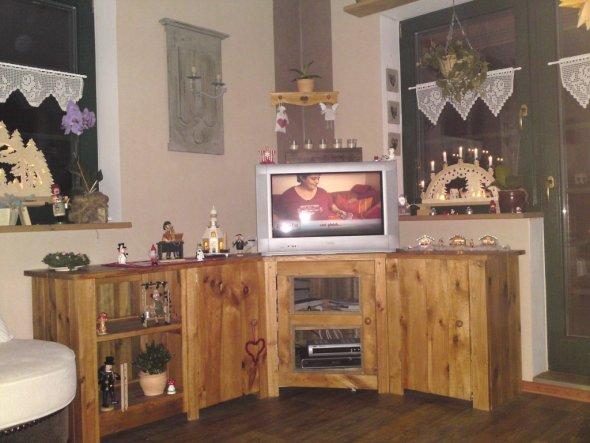 wohnzimmer unser kleines holzh uschen von nicolchen77 16721 zimmerschau. Black Bedroom Furniture Sets. Home Design Ideas