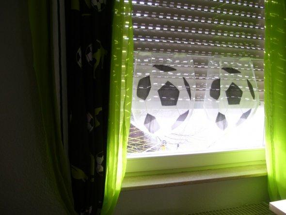 Vorhang Fussball Kinderzimmer Accessoires ~ Die beste Idee Idee für ...