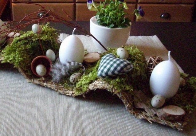 Osterdeko 'Frühlingserwachen/Ostern 2010'