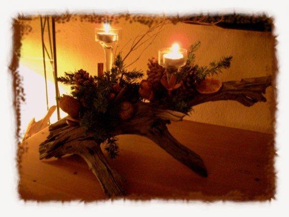 ... im Kerzenschein