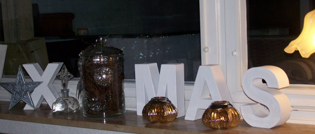 Weihnachtsdeko 'X-mas 2009'