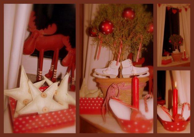 Weihnachtscollage Flur oben - 22.12.2009