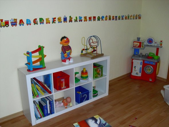 Kinderzimmer 'Spielzimmer von Kilian und Lena'