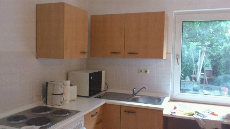 auch die Küche ist soweit fertig