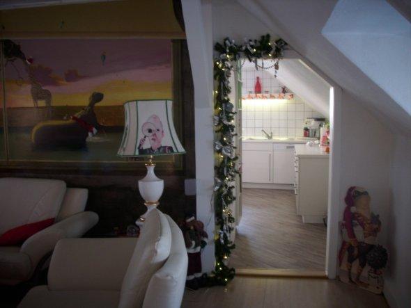 Weihnachtsdeko 39 wohnzimmer 39 dachboden zimmerschau - Weihnachtsdeko wohnzimmer ...