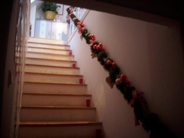Treppenaufgang - Bitte nicht anhalten