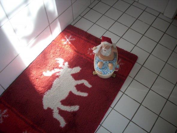 Weihnachtsdeko \'Badezimmer\' - Dachboden - Zimmerschau