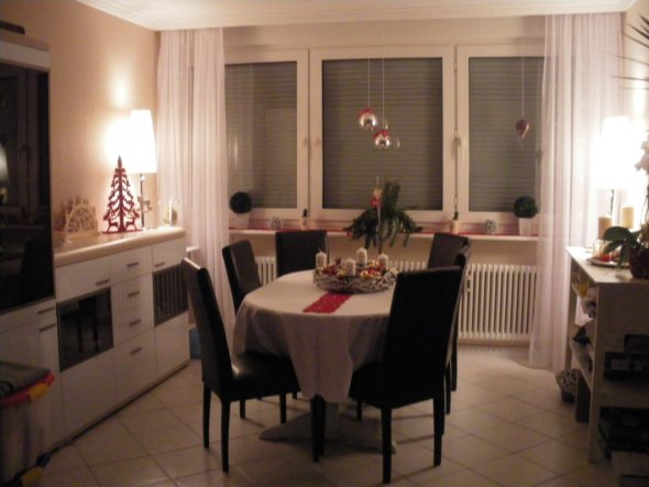 Wohnzimmer 39 weihnachten 2011 39 meine neue wohnung - Weihnachten wohnzimmer ...