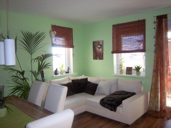 wohnzimmer braun mint. Black Bedroom Furniture Sets. Home Design Ideas