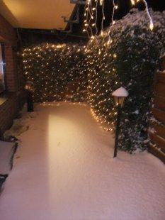 Winter Terasse