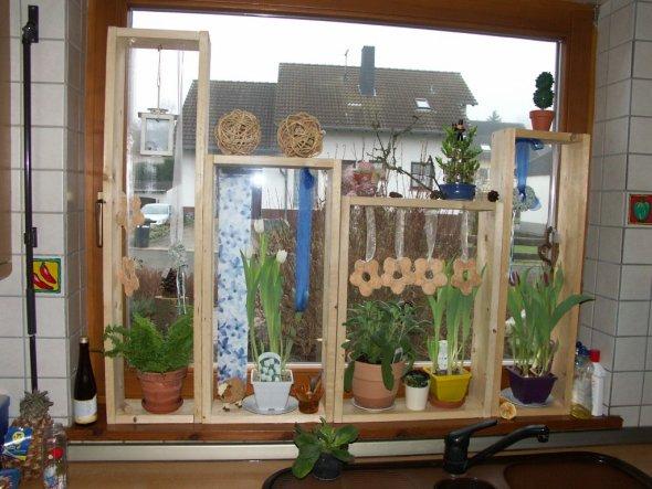 Deko 39 fenster 39 kuschelhaus zimmerschau - Fenster dekorieren ideen ...