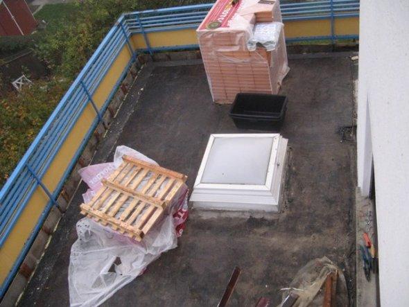 Hausfassade / Außenansichten 'Anbau + Dach arbeiten'