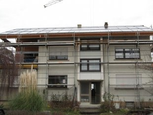 Anbau + Dach arbeiten