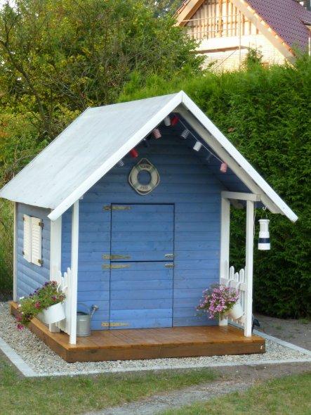 Garten 'Unser blaues Häuschen'