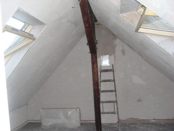 Kinderzimmer Dachboden