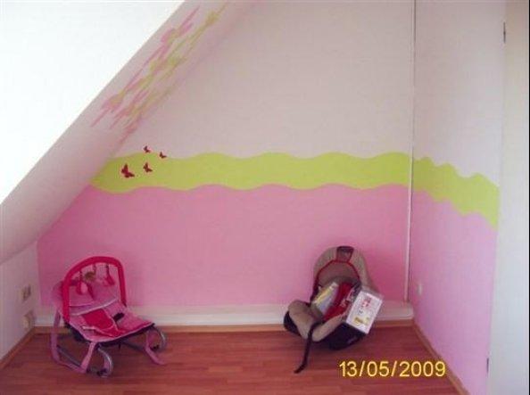 kinderzimmer 39 lenas zimmer 39 lenas wandgestaltung zimmerschau. Black Bedroom Furniture Sets. Home Design Ideas