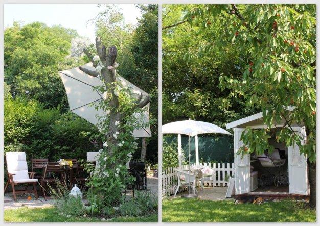 Garten 'atelierchen unter dem kirschbaum'