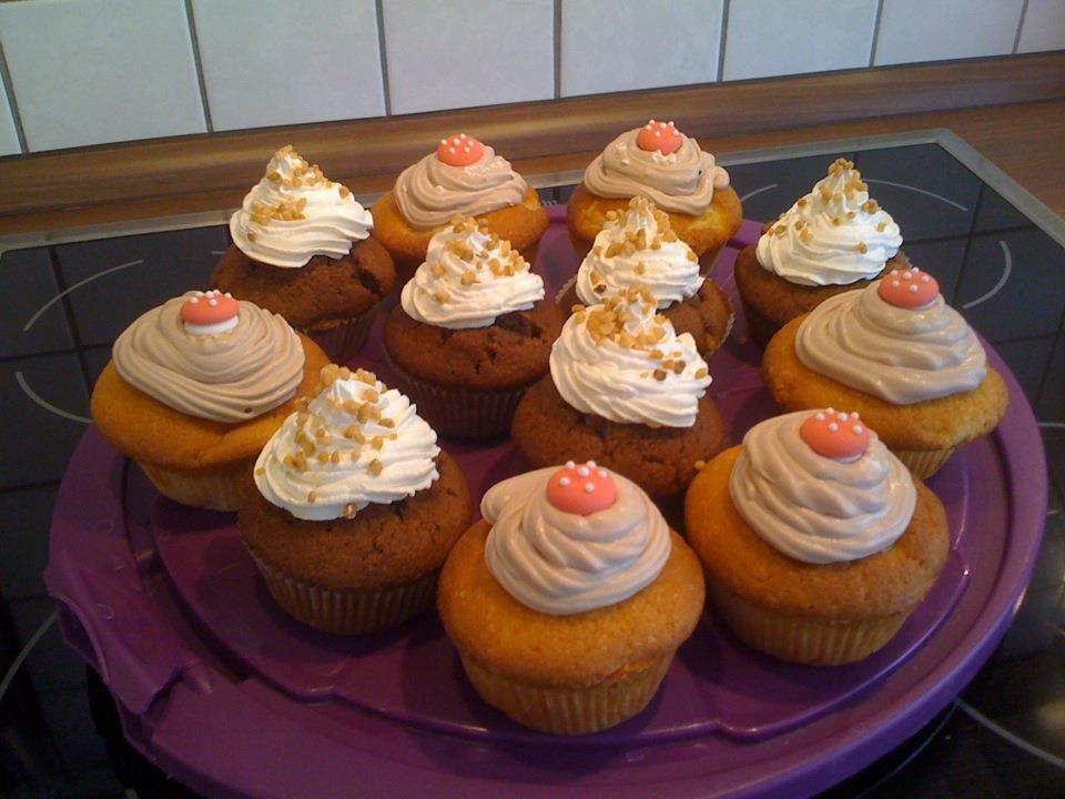 Hobbyraum 39 cupcakes 39 unser zuhause zimmerschau for Zimmer deko cupcake