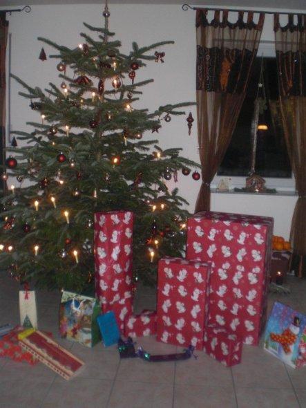fast größer als der weihnachtsbaum.