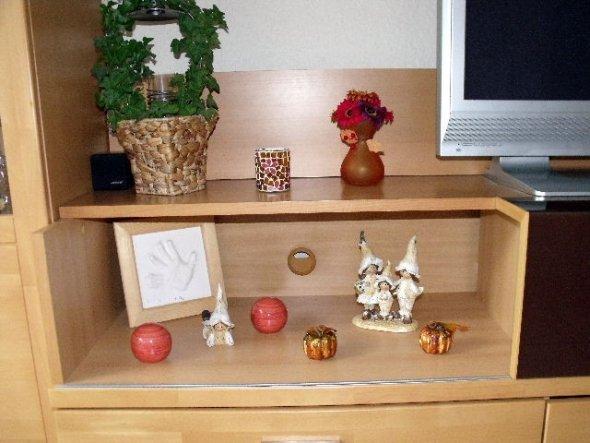 wohnzimmer 39 wohnzimmer herbstdeko 39 unser domizil. Black Bedroom Furniture Sets. Home Design Ideas