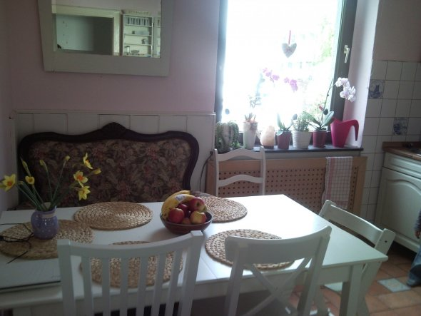 Küche 'rosa Küche'