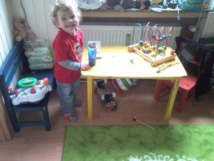 Kinderzimmer unseres Jüngsten